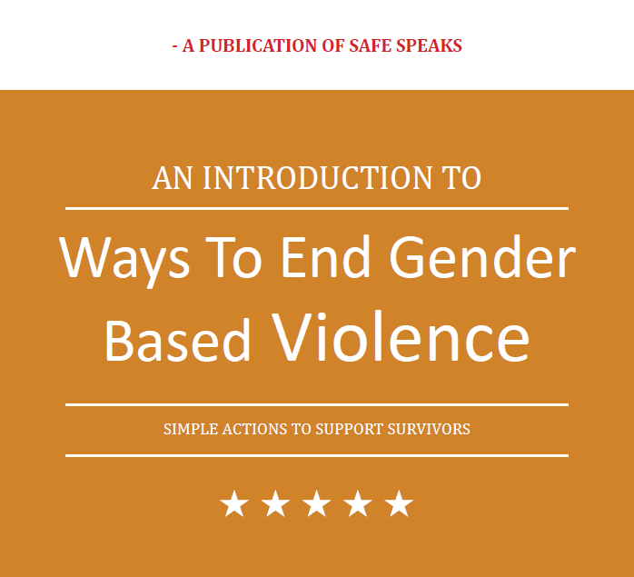 Way To End Gender Based Violence