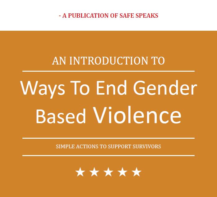 Ways To End Gender Based Violence